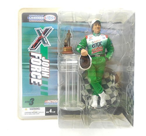 Mcfarlane John Force Racing NHRA Action Figure Series 3