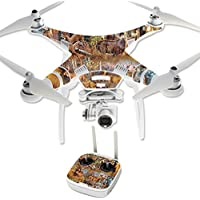 Skin For DJI Phantom 3 Professional – Deer Pattern | MightySkins Protective, Durable, and Unique Vinyl Decal wrap cover | Easy To Apply, Remove, and Change Styles | Made in the USA