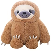 Winsterch Fluffy Giant Sloth Stuffed Animal Toy Kids Gift Large Plush Sloth Bear Baby Doll Birthday Gifts,19.7 inches