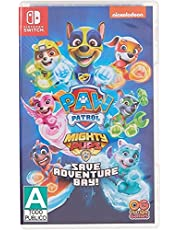 Paw Patrol Mighty Pups Nintendo Switch Games and Software