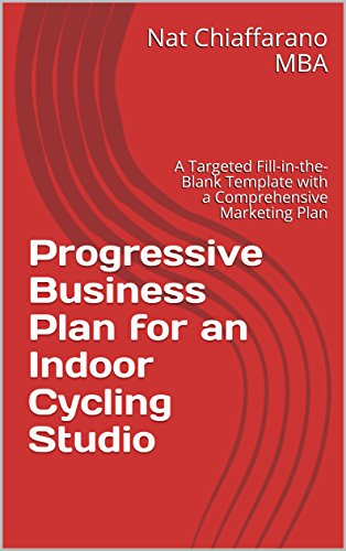 amazon com progressive business plan for an indoor cycling studio