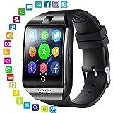 Teepao Q18 Smart Watch, Touch Screen Wrist Watch with Camera SIM/TF...