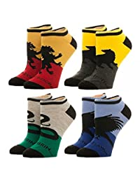 Harry Potter Houses 4-Pack Ankle Socks Standard