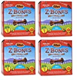 Zuke's ZBones Edible Dental Chews Mini Clean Carrot Crunch 72 count (2.06 lbs)