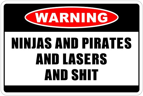 Ninjas and Pirates and Lasers and $HIT Warning 8