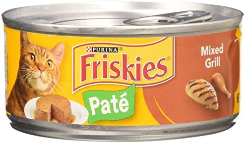 Friskies Mixed Grill Dinner Cat Food 5.5 oz Pack of 24