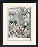 Framed Print Of Sailors Playing Bingo