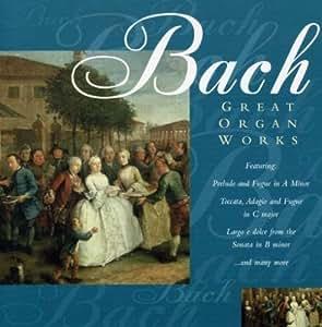 Great Organ Works: Johann Sebastian Bach, Bach: Amazon.es