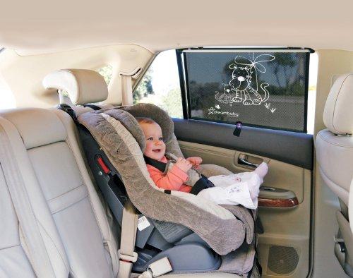 Tende Parasole Avvolgibili Per Auto.Dreambaby Tendina Parasole Avvolgibile Per Finestrino Auto