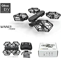Mchoice GTENG T908W Assembly Blocks WIFI FPV 0.3MP HD Camera Aititude Mode RC Quadcopter