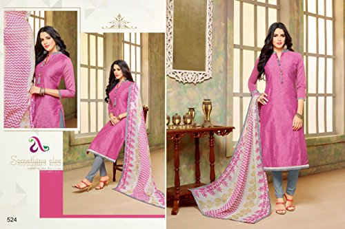 DAIRY Milk VOL-20 16 Pcs Chanderi Cotton Fine Embroidery Salwar Kameez by PANCHAL Creation -03 by DAIRY Milk VOL-20 (Image #1)
