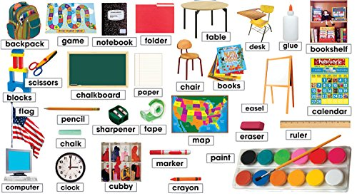 Classroom Photos & Labels Mini Bulletin Board (TF8084)