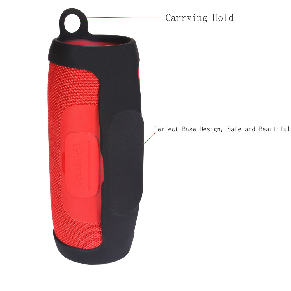 JBL Charge 3 bolsillos & rígida Travel Carry Pouch Portable Protective Box Cover Bag Cover Case For JBL Charge 3 Bluetooth Portable Speaker System Storage ...