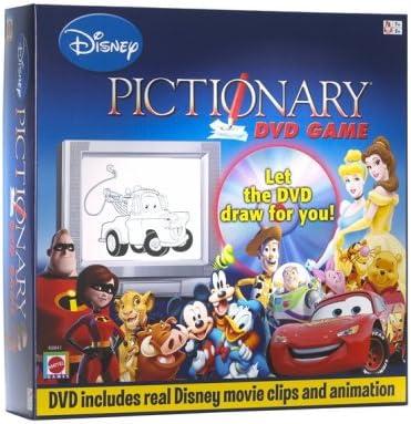 Disney Pictionary DVD Game: Amazon.es: Juguetes y juegos