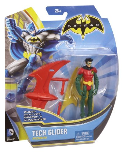 Batman Tech Glider Robin 4 Action Figure Mattel BHC72
