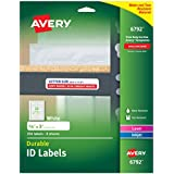 """Avery Durable ID Labels, Permanent Adhesive, 5/8"""" x 3"""", Pack of 256 (6792)"""
