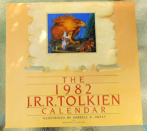 The 1982 J.R.R. Tolkien Calendar: The Wonders of Middle-Earth (Calendar 1982)