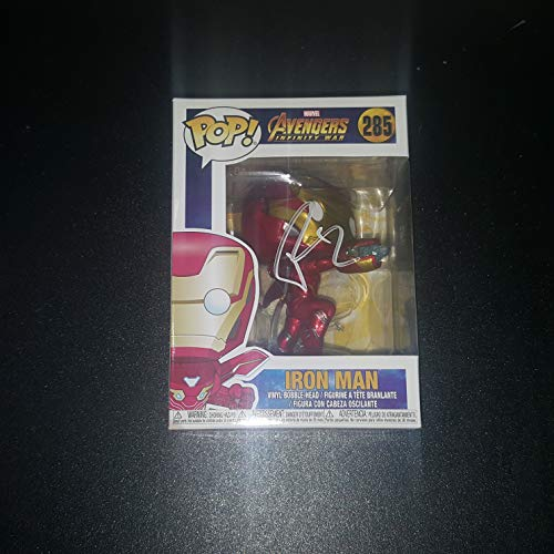 Robert Downey Jr. - Autographed Signed IRON MAN FUNKO POP 285 Vinyl Figure - Avengers Infinity War - MARVEL