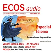 ECOS audio - Verbos irregulares 11/2011: Spanisch lernen Audio – Unregelmäßige Verben Hörbuch von  div Gesprochen von:  div.
