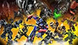 RoomMates JL1173M Transformers II Prepasted Chair Rail Wall Mural