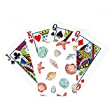 Colorful Scallop Marine Life Illustration Poker Playing Card Tabletop Board Game Gift