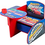 Disney Cars Chair Desk with Pull out under the Seat Storage Bin