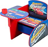 Disney Cars Chair Desk with Pull out under the Seat Storage Bin (Discontinued by manufacturer)