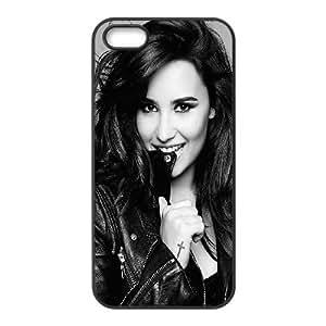 Wholesale Cheap Phone Case For Iphone 5c -Famous Singer Demi Lovato Pattern Design-LingYan Store Case 9
