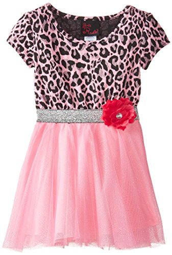 Pink Animal Print Dress - 5