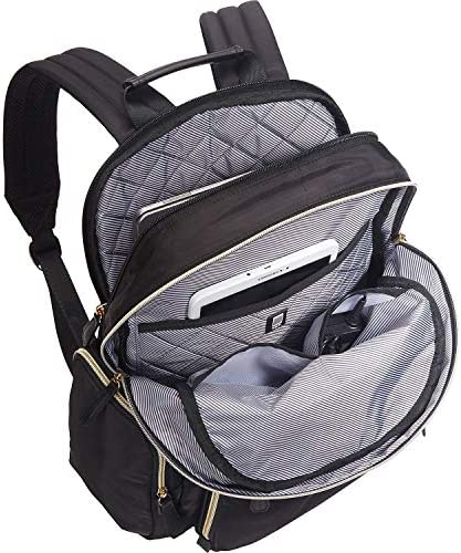 """Kenneth Cole Reaction Sophie Women's Silky Nylon 15.0"""" Laptop & Tablet Anti-Theft RFID Backpack"""