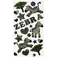 Sticko Sparkler Classic Stickers: Zebra Stripes