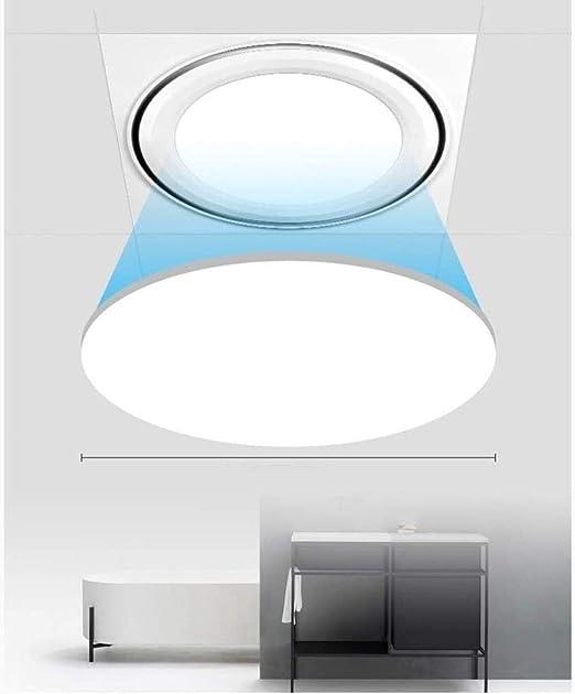 YDYDYD Ventilador de Techo LED Que Ilumina la Campana de ...