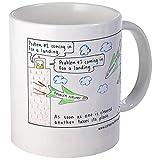 CafePress - 6 Questioner Air Traffic Control Mug - Unique Coffee Mug, Coffee Cup