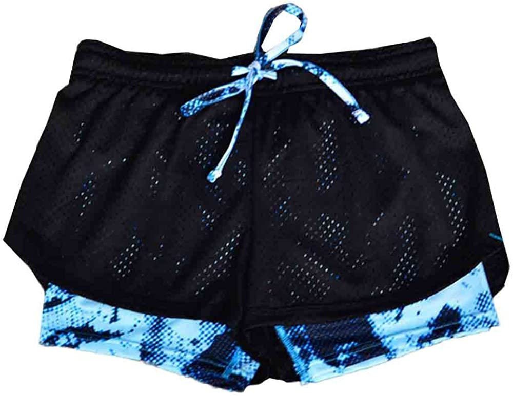 SSMENG Womens Perfomance Running Active Exercise Fitness Gym Workout Running Yoga Shorts