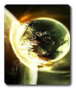 computer mousepad designs Planetary Collision PC Custom Mouse Pads / Mouse Mats Case Cover