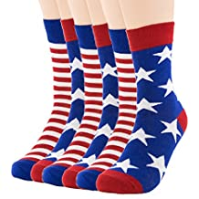 3-Pack Healthy and Natural Casual Bamboo Crew Socks for Men, Women and Teens, Super Soft Luxurious Fabric, Irritation-Free, Lay-Flat Seams by Natural Underwear