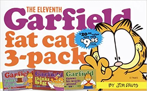 and 33 Contains 32 Garfield Strip Numbers 31 The Eleventh Garfield Fat Cat 3-Pack