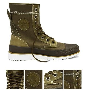 323f3117c1db92 Converse All Star  Major Mills  Canvas Hi Boots - Tan (UK-9.5 ...