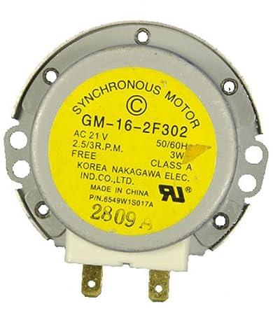 LG Electronics 6549W1S017A - Motor circulador para microondas ...