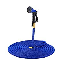 Ohuhu 50 Feet Super Strong, Expandable Garden Hose