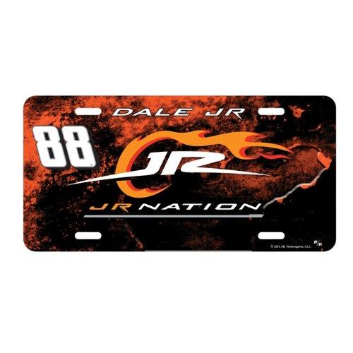 (Dale Earnhardt Jr NASCAR Metal License Plate )