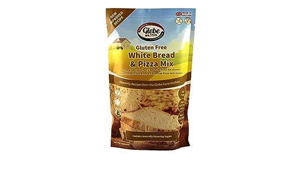 Amazon.com : Glebe Farm Gluten Free White Bread & Pizza Mix ...