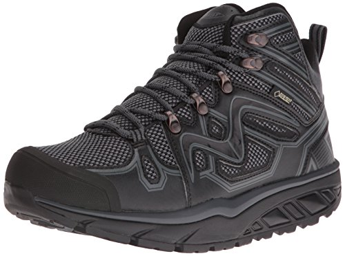 Mbt Mens Adisa Gtx Walking Shoe Nero / Grigio