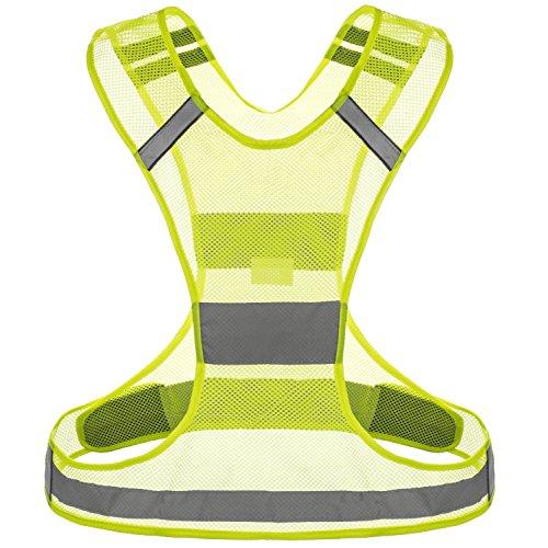 BODYSTRIVE Reflective Vest - Made of Real 3M SCOTCHLITE...