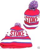Stoke City Bobble Hats