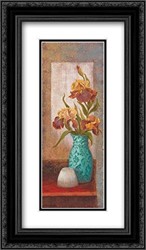(Spiced Jewels II 2x Matted 14x24 Black Ornate Framed Art Print by Wacaster, Linda)