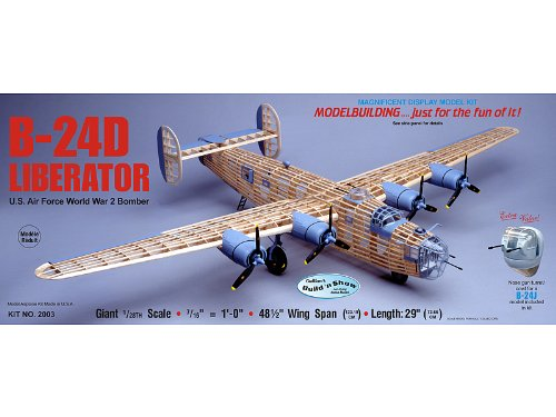 (Guillow's Consolidated B-24D Liberator Model Kit)
