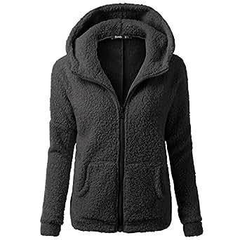 Clearance Winter Fleece Jackets, WUAI Womens Hoodie