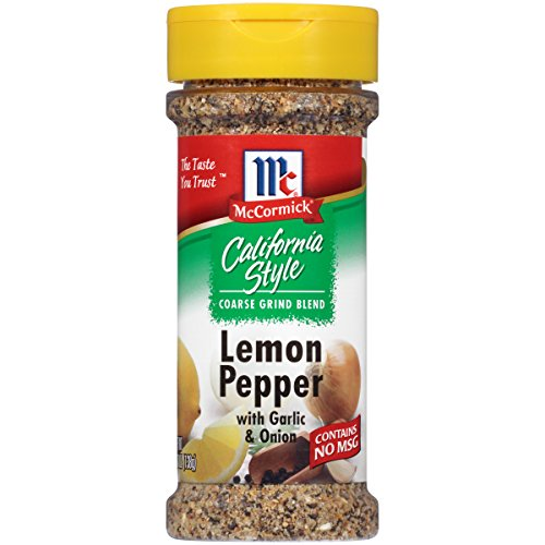 McCormick California Style Lemon & Pepper, 4.87 (Mccormick Lemon Pepper)
