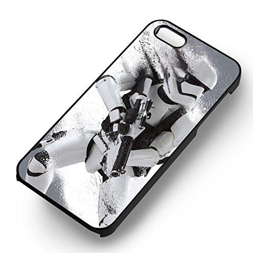 Stormtrooper Painting pour Coque Iphone 6 et Coque Iphone 6s Case (Noir Boîtier en plastique dur) D6B1HU